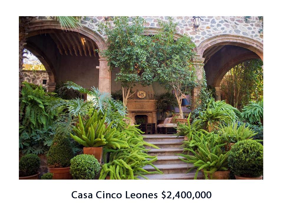San Miguel de Allende Real Estate / Casa Cinco Leones Sold